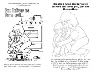 Bulletin Insert about Prayer #4