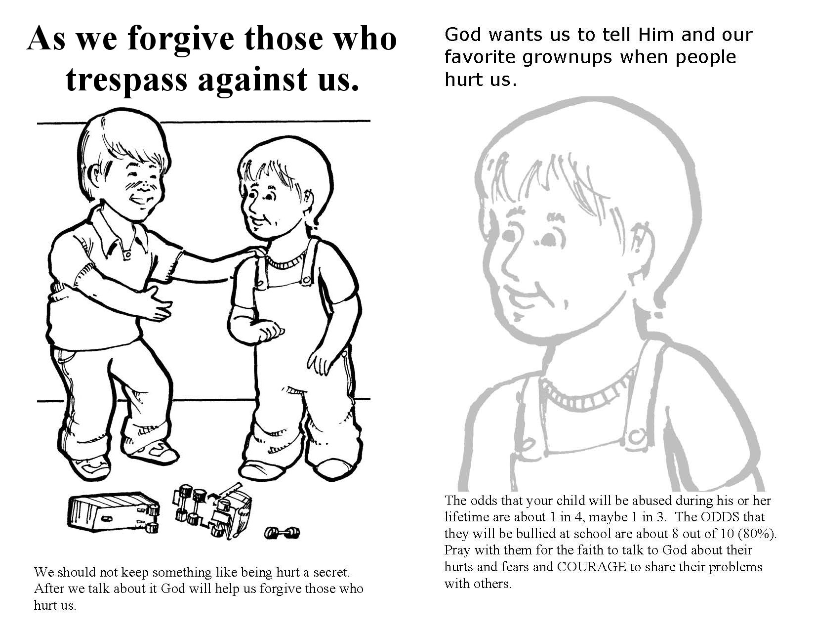 Free Church bulletin about prayer