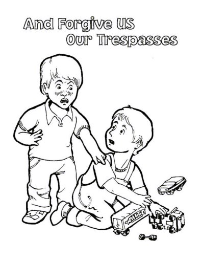 Coloring Pages About Prayer