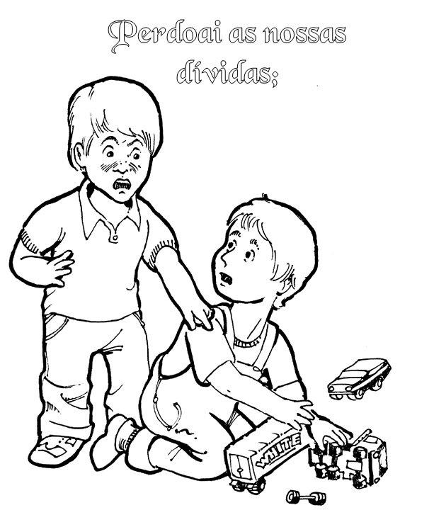 Oração ajuda as crianças