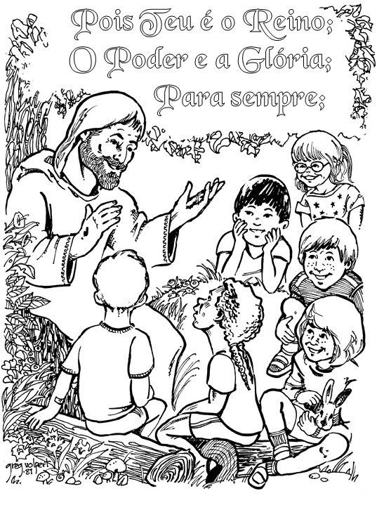 Teaching kids to pray in Portuguese