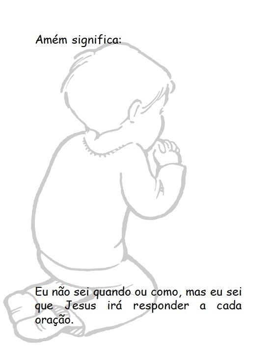 kids prayer activities in portuguese