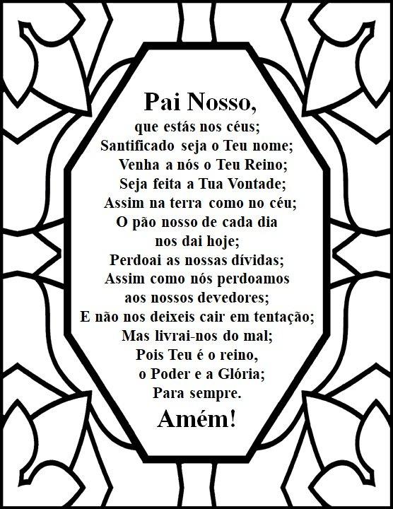 Children's prayer lessons in Portuguese