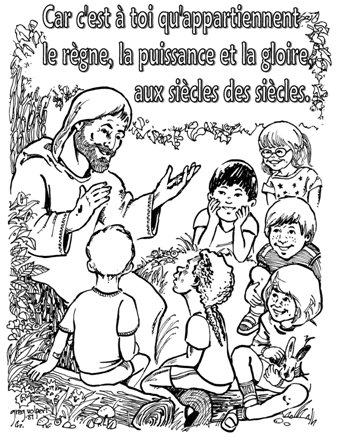 Teaching kids to pray