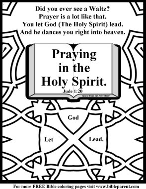 Sly image with regard to free printable coloring pages on prayer